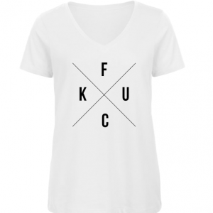 Dames T-shirt hipster fuck
